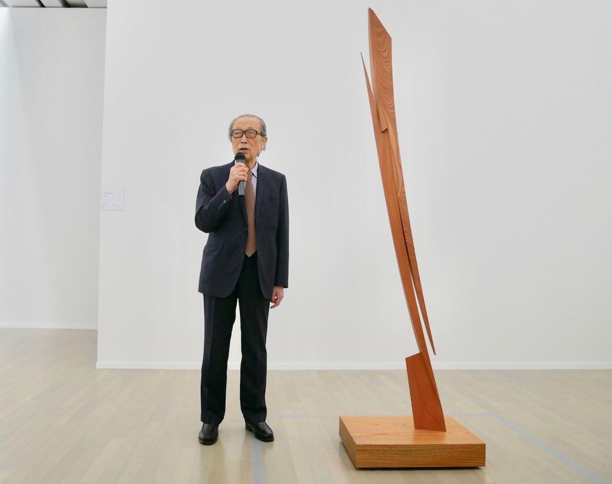 東京スカイツリーをデザイン監修した彫刻家、澄川喜一の大規模個展が ...
